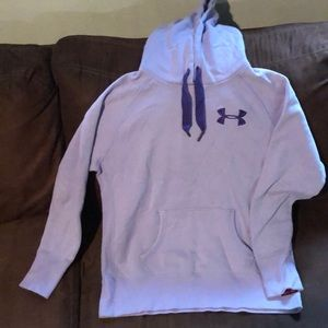 Under Armour Storm Cotton Purple Hoodie